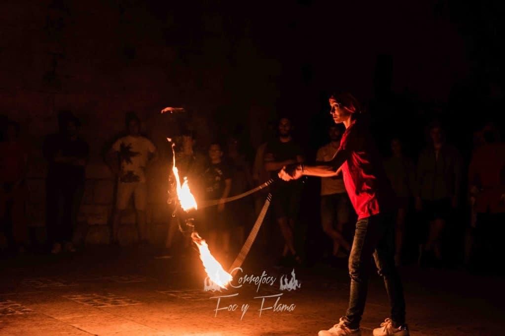 Cariocas ardiendo