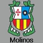 Escudo heráldico de Molinos